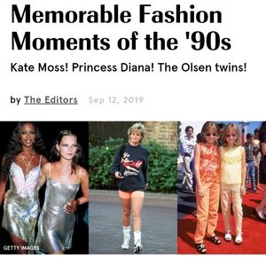 90s REDUX the age of Kate Moss and lingerie